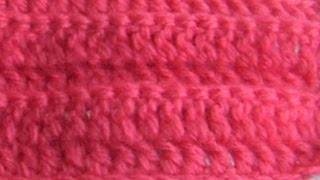 Плотный узор крючком из столбиков с прямым накидом Thick columns of crochet pattern Direct nakida