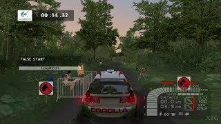 Richard Burns Rally PS2 Gameplay HD (PCSX2)