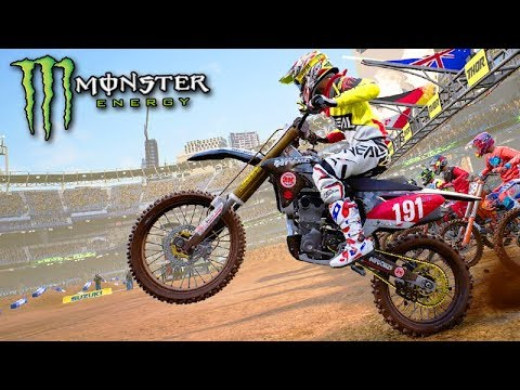 EMPINEI a NOVA MOTO KAWASAKI!!! - Monster Energy SuperCross