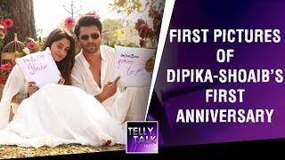 FIRST PICTURES of Dipika Kakar & Shoaib Ibrahim's First Wedding Anniversary