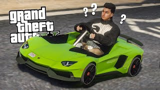 MINI LAMBORGHINI TROLLA IL SERVER! - GTA 5 REAL LIFE ONLINE