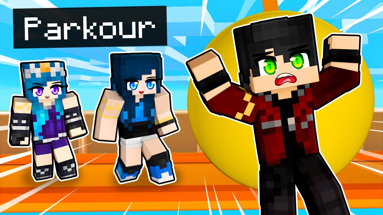 FUNNY PARKOUR in Minecraft!