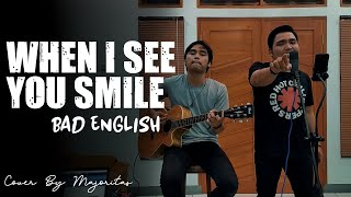 When I See You Smile Bad English Cover Acoustic