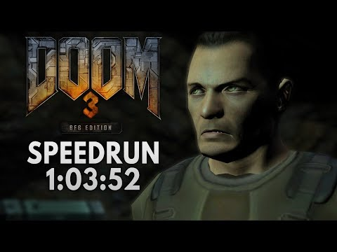 Doom 3 BFG Speedrun in 1:03:52 [Personal Best]