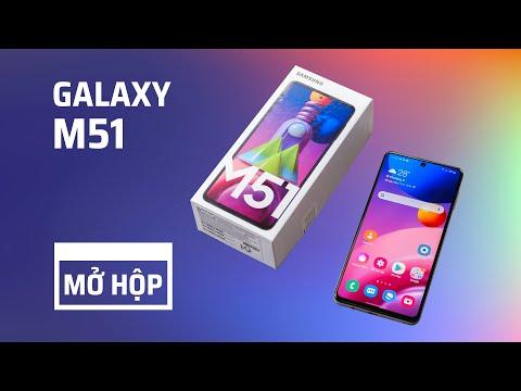 Trên tay Samsung Galaxy M51: pin 7000mAh lớn nhất dòng Galaxy, bộ 4 camera 64MP