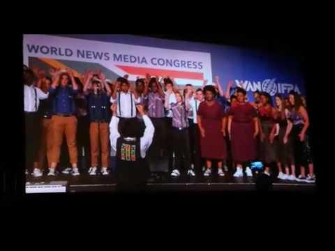 Stunning performance as World News Media Congress opens