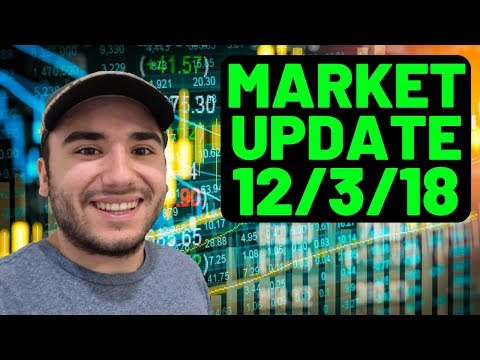 CRONOS Being Bought Out By ALTRIA!? | Trading Update 12/3/18 | Stock Trading 101