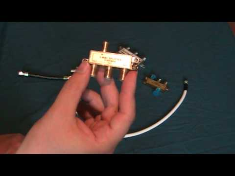 Splitters and switches for Satellite Cable and Antenna's