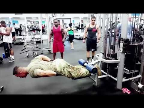 US | Army Soldier in gym (best motivational video)