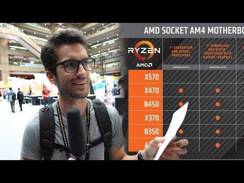 AMD X370/X470/B450/B350 for third gen advice (video)   IGN