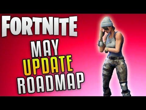 "Fortnite Save The World Update 4.1 Roadmap ""Fortnite Perk Reroll System"" Fortnite New Update Roadmap"