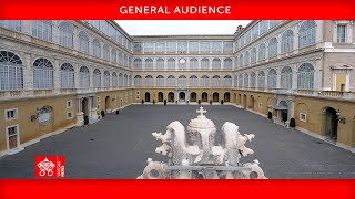 June 23, 2021 General Audience of Pope Francis