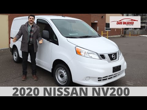 2020 Nissan NV200 Compact Cargo Van | In Depth Walk Around And Review |