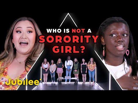 6 Sorority Girls vs 1 Fake Sorority Girl