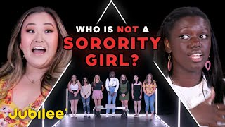 6 Sorority Girls vs 1 Fake Sorority Girl