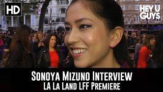 Sonoya Mizuno Interview - La La Land LFF Premiere