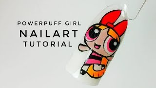💅💅 Icon Nailart 💅💅 :: Powerpuff Girl :: Nailart by Natalia
