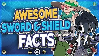 25 AWESOME Pokémon Sword and Shield Facts!