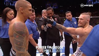 Every Conor McGregor in-ring face off in the UFC (2014-2020)