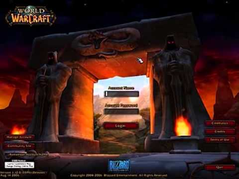 World of Warcraft Login Music