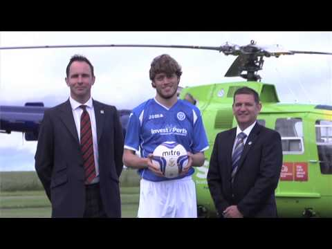 John Bullough interview (Scotland's Charity Air Ambulance) on St. Johnstone partnership