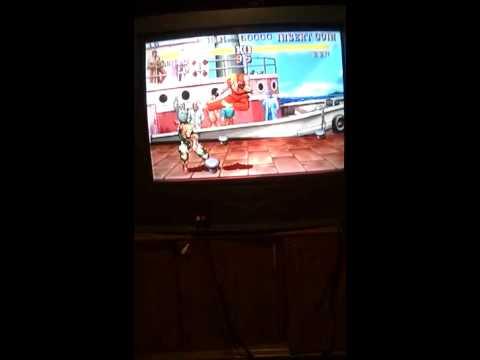 Rapsberry PI 2 Demon Front Street Fighter III Gar