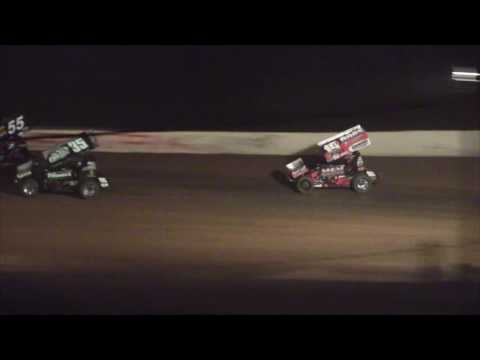 Path Valley Speedway 410 Sprint Car Highlights 8-28-16