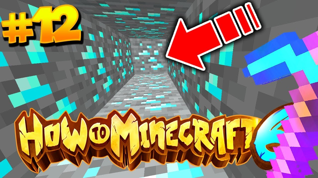 How to DIVE-MINE in MINECRAFT (1x1 MINING) | HOW TO MINECRAFT S6 #12 (H6M)