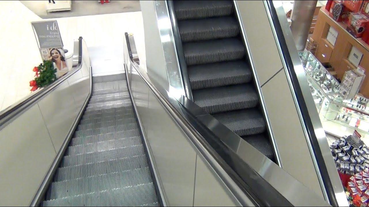 Montgomery Escalators Macy's Sunland Park Mall - YouTube