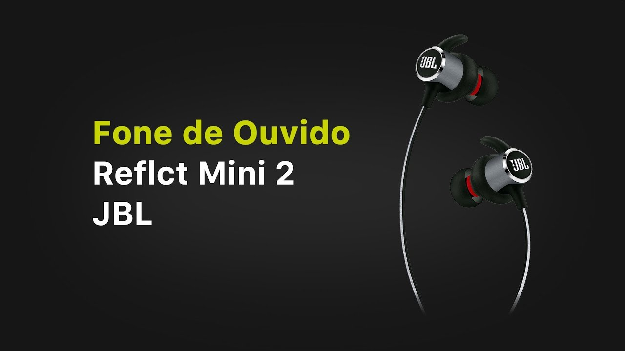 76692faa8fa Fone de Ouvido JBL Reflect Mini 2 - YouTube