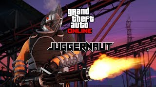 GTA 5 Online - Adversary Mode *Juggernaut* Gameplay