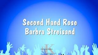Second Hand Rose - Barbra Streisand (Karaoke Version)