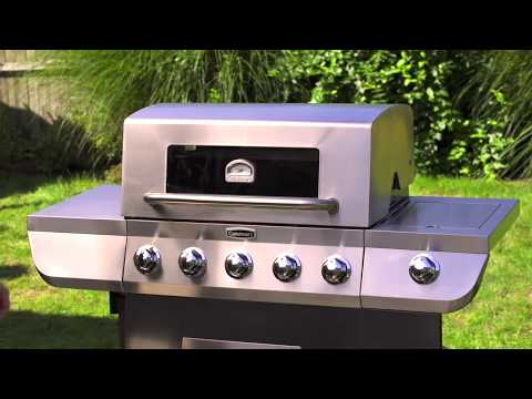 3 in 1 Stainless Five Burner Gas Grill