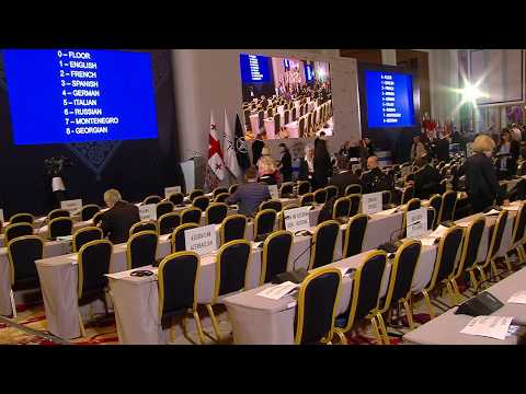NATO Parliamentary Assembly Spring Session, Plenary Sitting