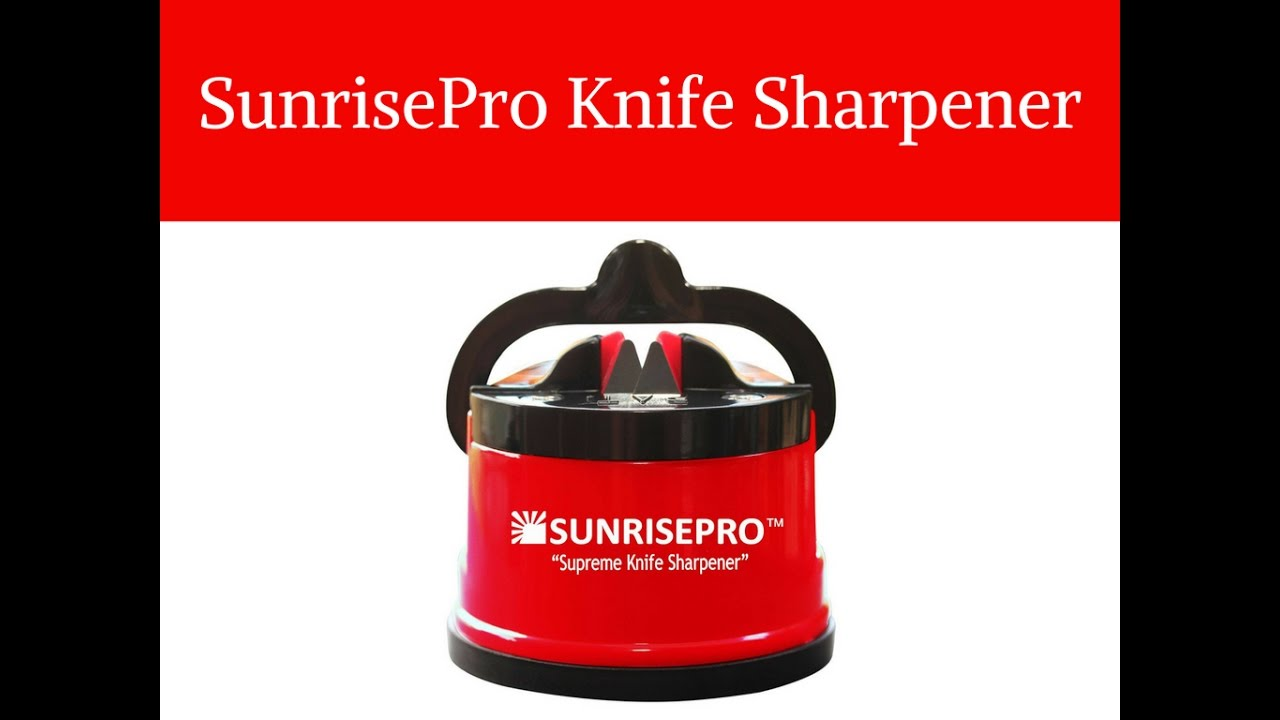 Sunrisepro Knife Sharpener Review L Sunrise Pro