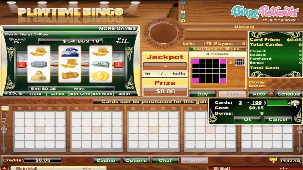 Playtime Bingo