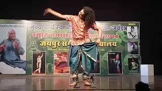 kathak dance vishal krishna banaras ganana from JSMV
