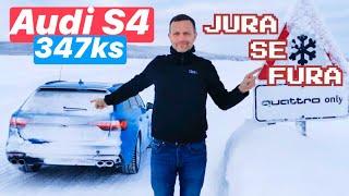 Audi S4 drift! Jura se fura