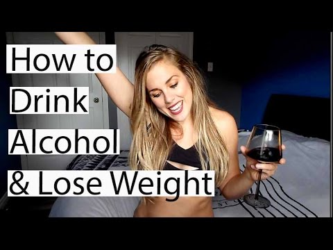 How to drink ALCOHOL & LOSE WEIGHT