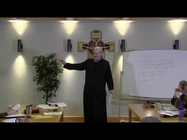 Fr John Behr LPH 2019 Advent Retreat 09 On the Incarnation Part 2