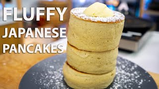 Fluffy Japanese Pancakes Perfected Recipe (Jiggly Souffle Pancakes)