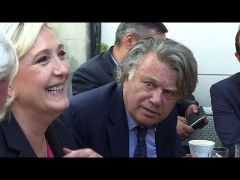 New far-right MP Le Pen arrives at French parliament