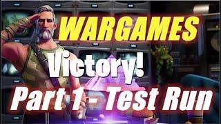Wargames Part 1, Test Run / Fortnite