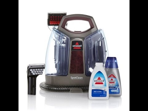 Bissell Spotclean Portable Deep Cleaner Youtube