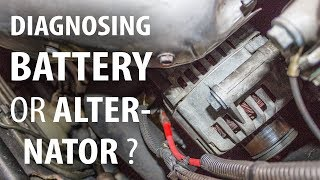 Diagnosing battery or alternator 2/3: Testing the alternator
