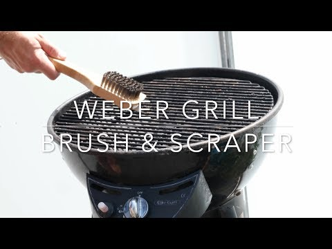 Weber 12-Inch Bamboo Grill Brush