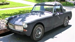 MG Midget Reveal by Drivin