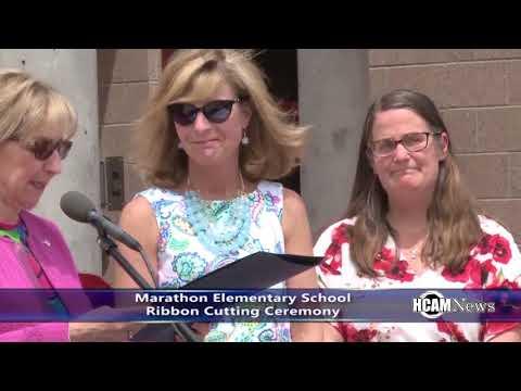 Marathon Elementary School Ribbon Cutting Ceremony Recap