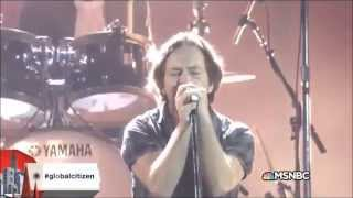 Pearl Jam - Mind Your Manners @Global Citizen Festival 2015