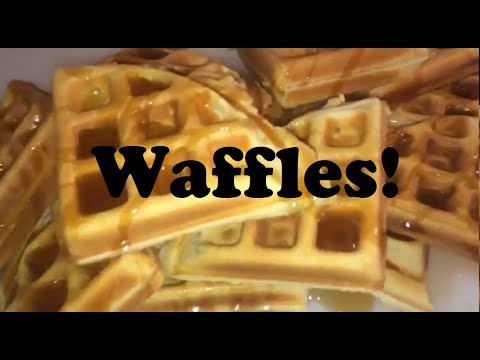 waffles-from-scratch!